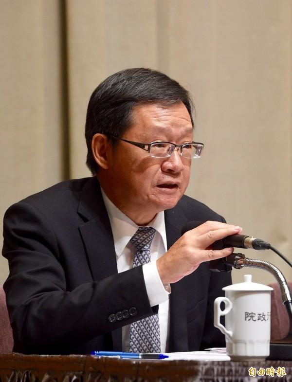 外交部次長李澄然。(資料照,記者羅沛德攝)