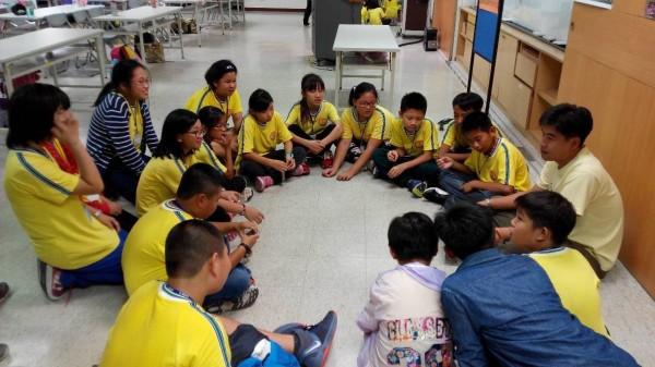 七股國小參加台北科學館學習之旅。(學校提供)