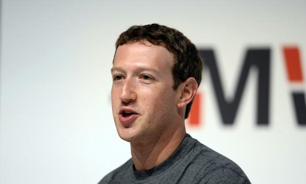 臉書創辦人祖克伯的Twitter等其他社群軟體帳號遭駭客入侵。(美聯社)