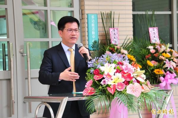 台中市長林佳龍。(資料照,記者李忠憲攝)