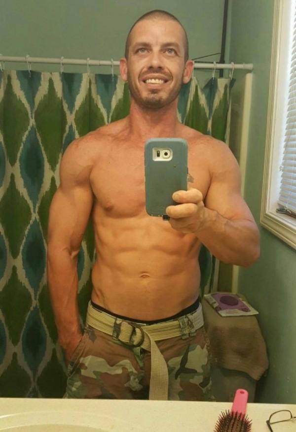 利森為健美運動員。(圖擷取自太陽報)