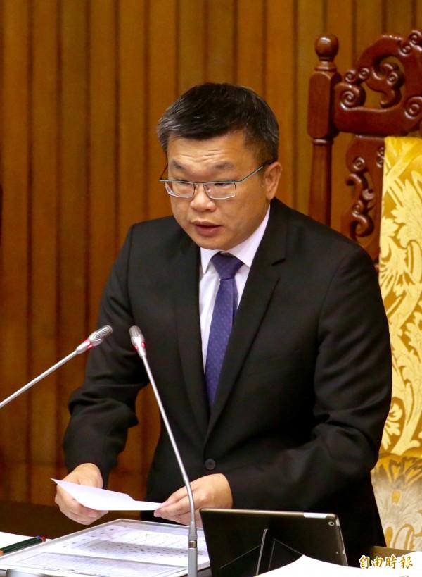 立法院副院長蔡其昌。(資料照,記者羅沛德攝)