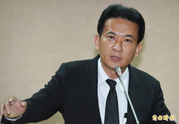 總統府已對馬英九的出境申請核定不同意,立委林俊憲在臉書上po文說,馬英九哭哭了!(資料照,記者張嘉明攝)