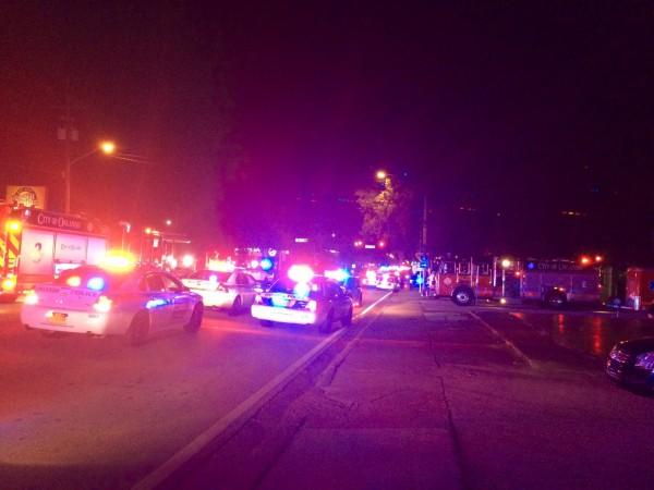 美國佛羅里達州奧蘭多一間同志夜店「Pulse Club」今日遭一名男子持槍進入夜店亂槍掃射,至少有20人中槍。當地警方證實兇嫌已死亡。(法新社)