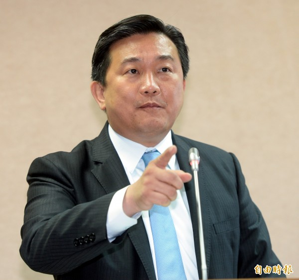 民進黨立委王定宇。(資料照,記者林正堃攝)