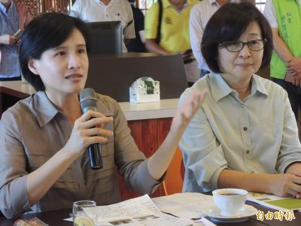 文化部長鄭麗君希望地方與國家文化保存要平行發展。(記者廖淑玲攝)