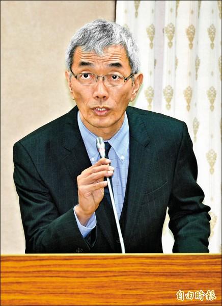 外交部國傳司長彭滂沱。(記者張嘉明攝)