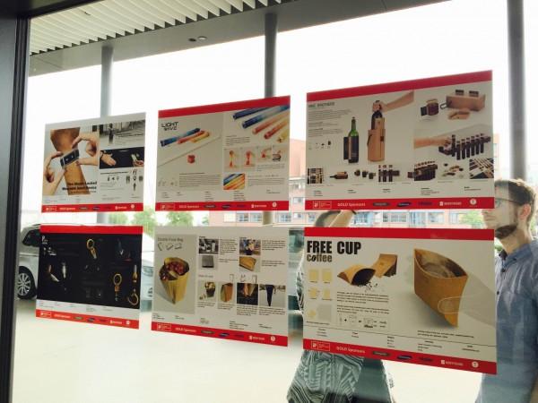 樹德科大獲選iF概念設計獎百大作品海報。(照片由樹德科大提供)