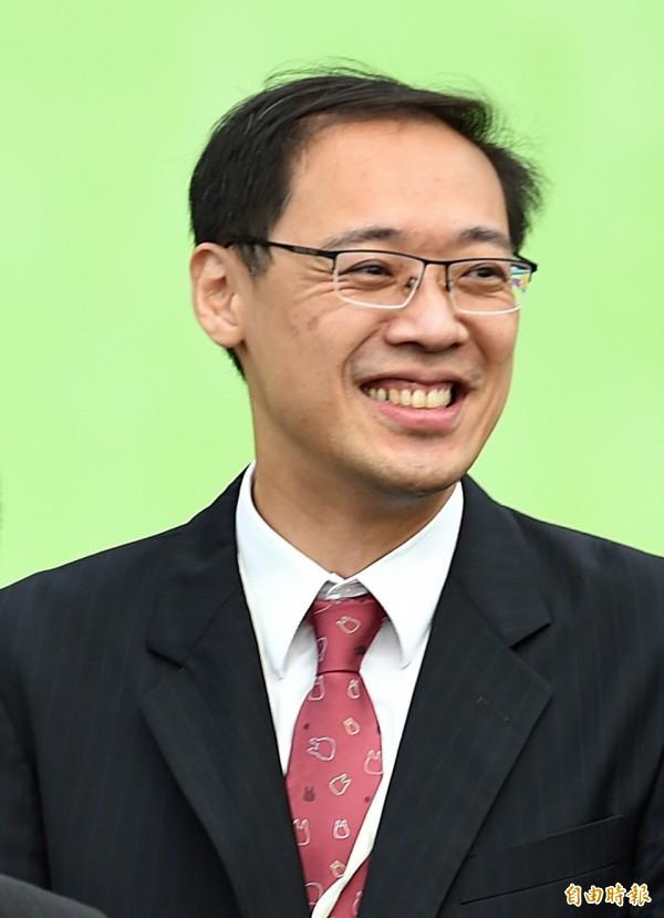 國民黨前發言人楊偉中表示,中國國民黨直到1919年才在歷史上出現,說國民黨創建中華民國「太荒謬」。(資料照,記者方賓照攝)