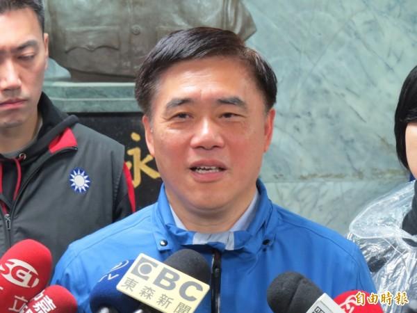 郝龍斌今天受訪表示,自己非常樂意幫忙世大運。(資料照,記者俞肇福攝)