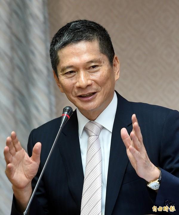 客委會主委李永得表示,東南亞客家人多,客委會計畫以語言做連結,增進台灣與東南亞之間的交流。(記者方賓照攝)