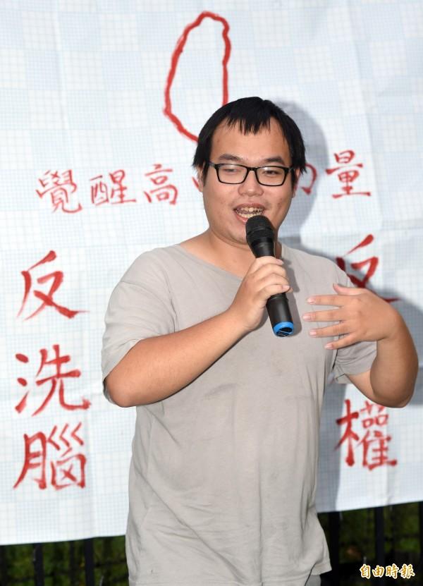 朱宥勳日前在平面媒體專欄以日本動漫「庫洛魔法使」為題材發表文章,遭許多讀者投訴。(資料照,記者羅沛德攝)
