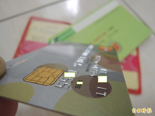 連晶片卡都可能被盜刷,發卡銀行強化簡訊示警,卻常被當成詐騙。圖為示意圖。(記者李立法攝)
