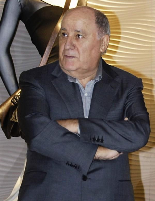 西班牙Zara創辦人奧蒂嘉。(資料照,路透)
