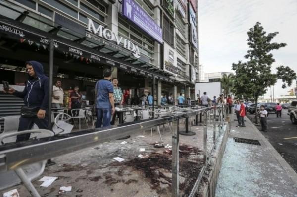 馬來西亞Movida夜店今天凌晨發生爆炸案。(圖擷自《馬來郵報》)