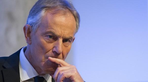 前英國首相布萊爾(Tony Blair)投書媒體分析脫歐的政治背景及衝擊,並表達對英國未來的擔憂。(路透)
