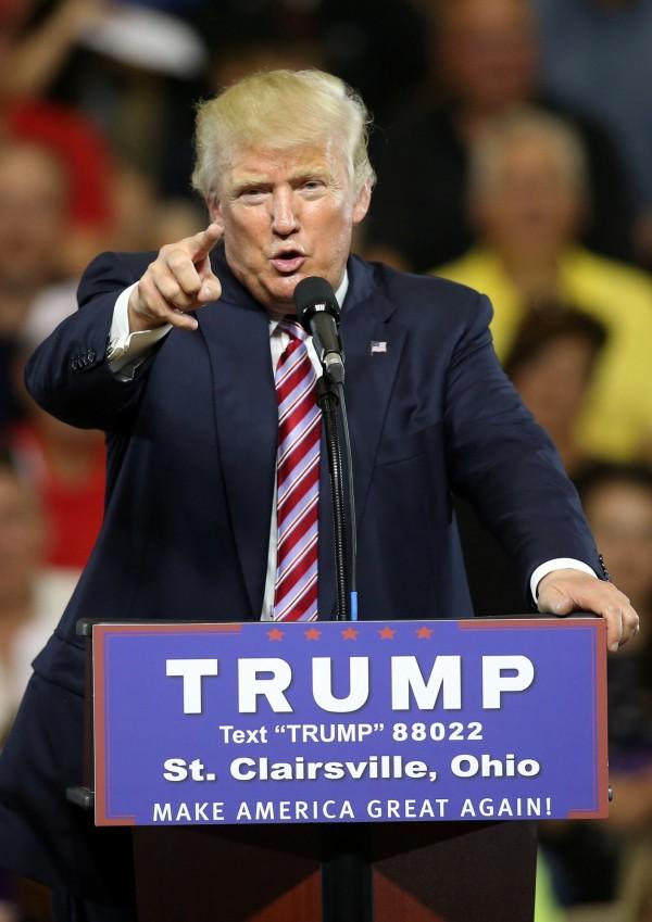 美國共和黨總統提名人川普。(路透)