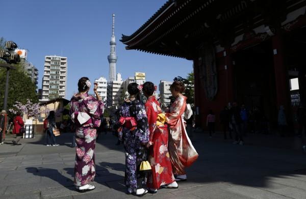不受日圓匯率影響,台灣人暑假最愛的旅行城市,前三名東京、大阪、沖繩都位在日本。(彭博)