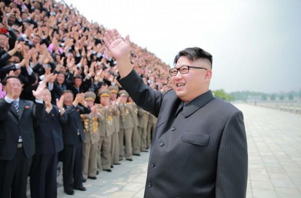 北韓領導人金正恩。(朝中社)