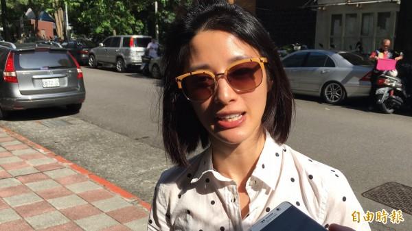 李蒨蓉撞傷騎士案被判拘40天、緩刑2年定讞。(資料照,記者張文川攝)