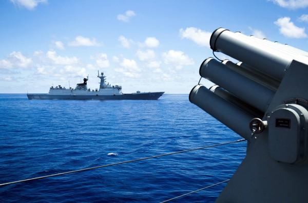 凱瑞向中國針對南海問題撂狠話指出,若美方認定中方挑釁,將「採取必要的行動」。(法新社)