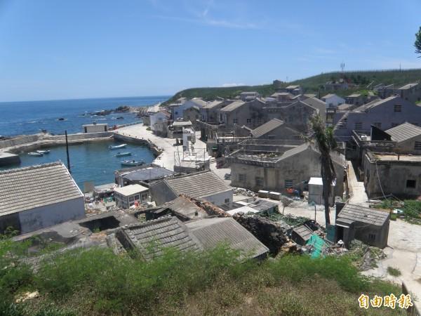 花嶼為台灣國土最西端,不僅曾受啞彈威脅,也飽受中國漁船包圍恐懼。(記者劉禹慶攝)