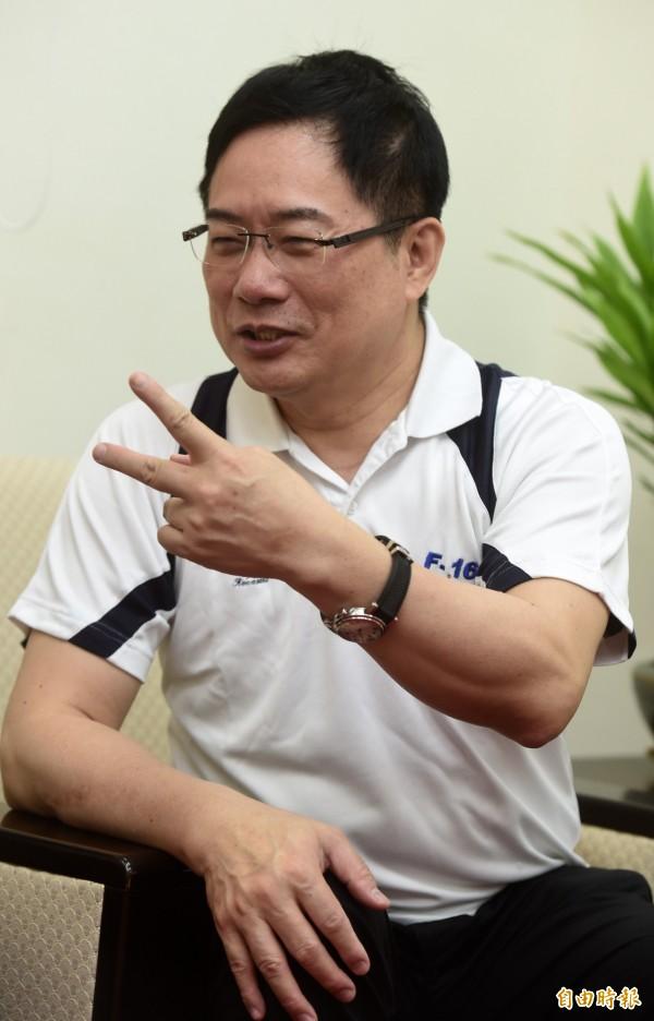 誤射飛彈事態嚴重,蔡正元要求蔡英文負責。(資料照,記者簡榮豐攝)