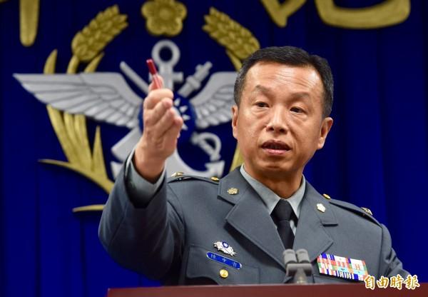 雄三飛彈貫穿翔利昇號造成民眾傷亡,國防部表示將負起相關責任。(記者羅沛德攝)