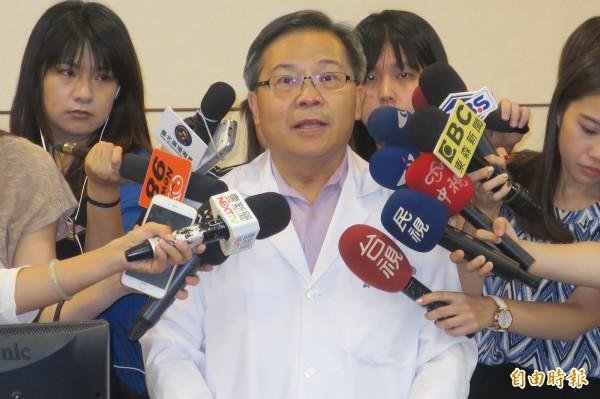 聯醫副總院長翁林仲。(記者郭安家攝)