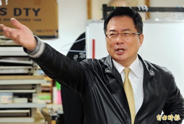 國民黨政策會執行長蔡正元再傳盜圖。(資料照,記者廖振輝攝)