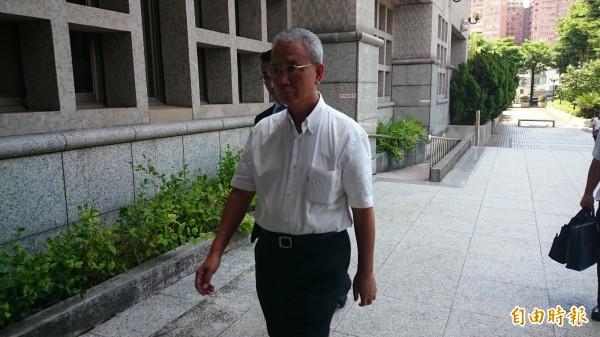 頂新劣油案前董事長魏應充,今日出庭應訊。(記者楊政郡攝)