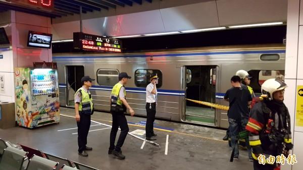 台鐵昨晚發生爆炸案,造成多人受傷,警方案後積極展開調查。(資料照,記者陳志曲攝)