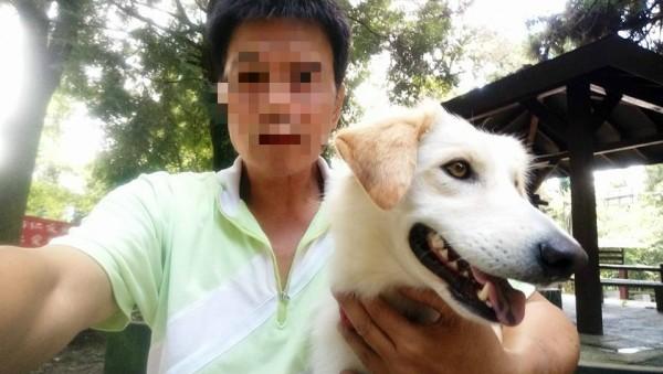 台鐵爆炸案兇嫌林英昌平日與愛犬「女兒」居住在南投的車上,他前日留下愛犬隻身北上,警方認為他想採取「孤狼式」的自殺。(圖擷取自臉書)