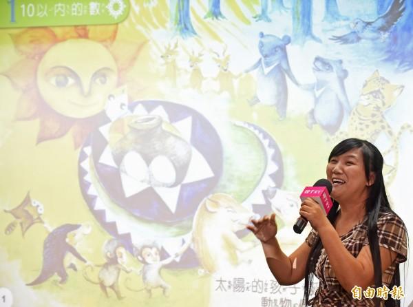 屏東縣地磨兒國小校長伍麗華在臉書說出自己名字的故事。(資料照,記者劉信德攝)