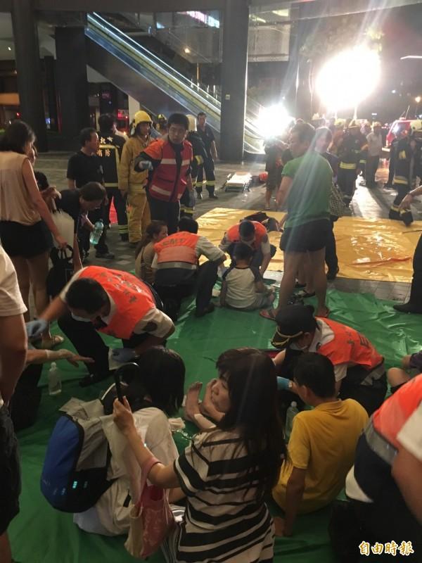 台鐵列車爆炸,造成24名乘客受傷。(資料照)