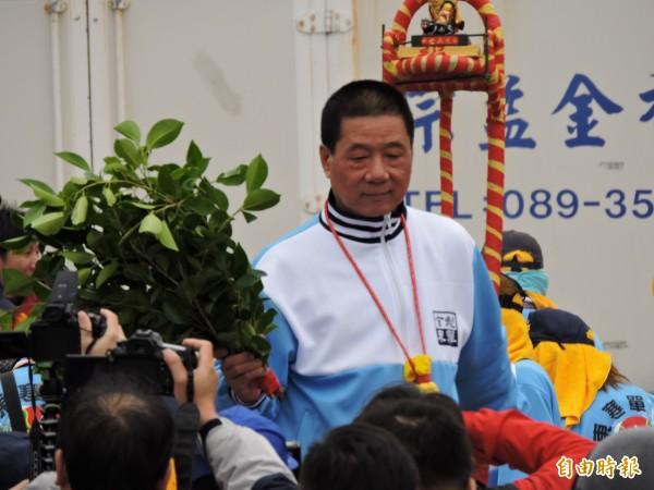 尼伯特颱風17級強烈陣風重創台東,造成當地災害嚴重,台東市長張國洲卻傳人在中國,直到今日中午才返回至台東。(資料照,記者張存薇攝)