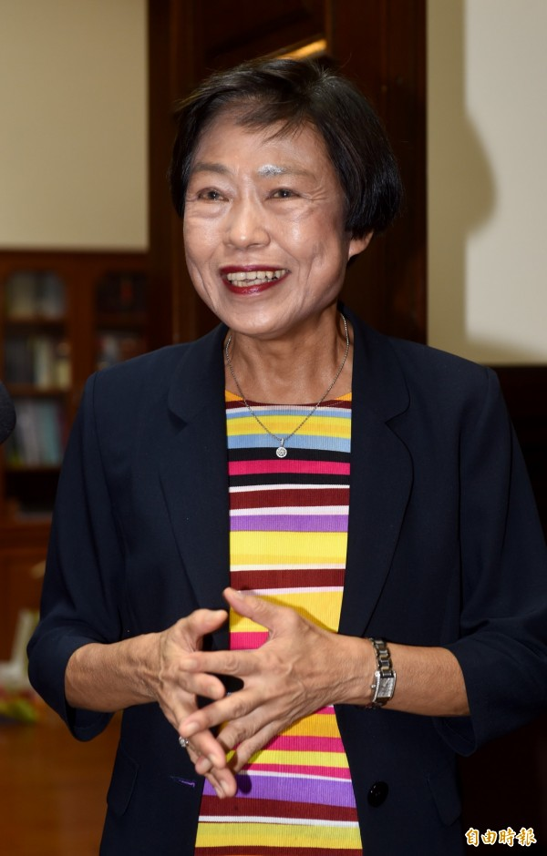 總統蔡英文提名林錦芳接任司法院副院長,引發外界質疑。(記者簡榮豐攝)