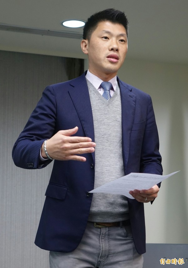 民進黨發言人王閔生批國民黨秘書長莫天虎「好大的官威!」(資料照,記者張嘉明攝)