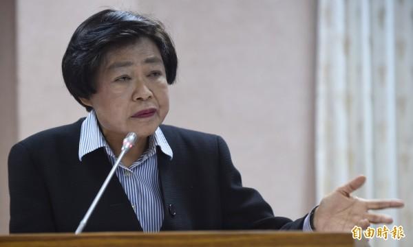 林錦芳將被提名為司法院副院長。(資料照,記者劉信德攝)