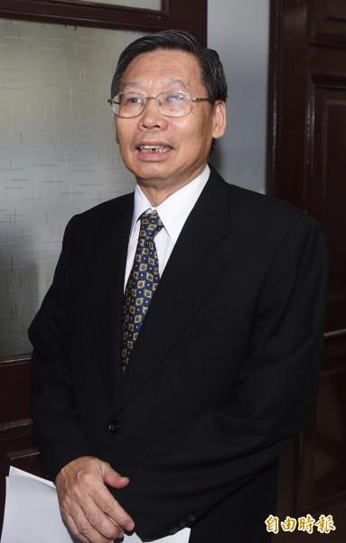 蔡總統昨提名公懲會委員長謝文定為司法院新任院長。(記者簡榮豐攝)