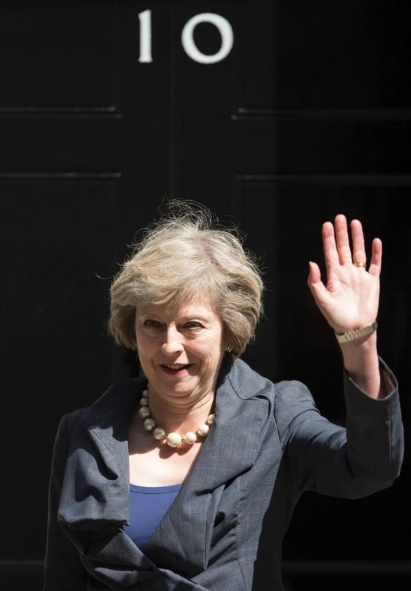 梅伊.文翠珊明(13)日將正式接下英國首相職務,成為英國未來脫歐談判的主導人物;外界普遍認為這將是場十分艱困的漫長談判。(法新社)