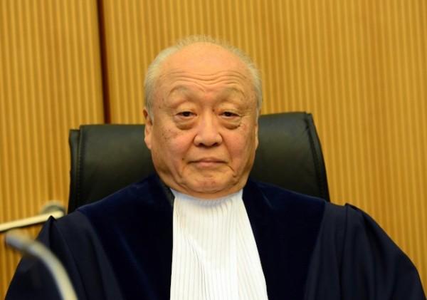 南海仲裁庭長為日籍柳井俊二,被中國質疑仲裁案公平性。(Getty Images)