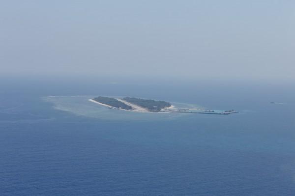 南海仲裁案今天出爐,仲裁結果將我國太平島認定為「岩礁」,總統府表示「絕不接受」。(資料照)