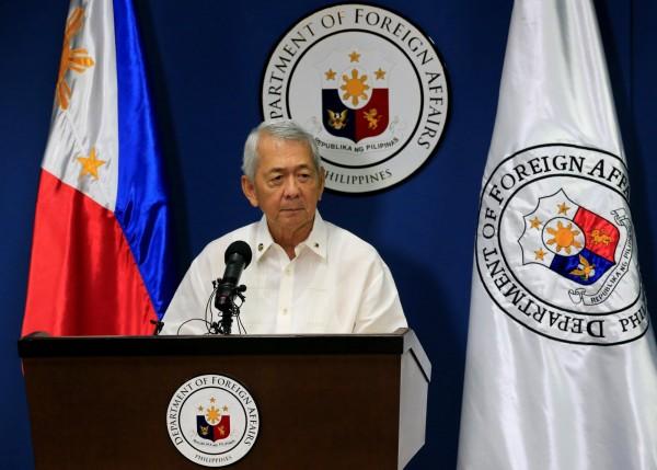 菲律賓外長雅賽對此表示這是一個「里程碑式的決定」,可以穩定解決南海爭端。(路透)