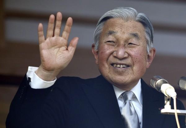 日本天皇傳有意「生前讓位」。(歐新社)
