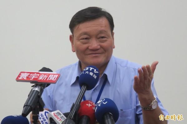 台北市體育局長鄭芳梵。(記者郭安家攝)