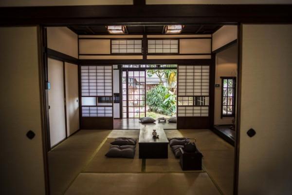 淡水街長多田榮吉故居內部環境,民眾可感受日式建築氛圍。(新北市立淡水古蹟博物館提供)