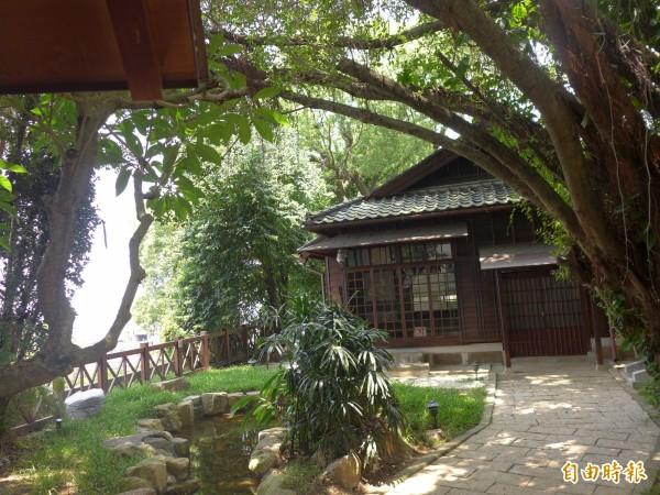 淡水街長多田榮吉故居將在明天(18日)對外開放。(記者李雅雯攝)