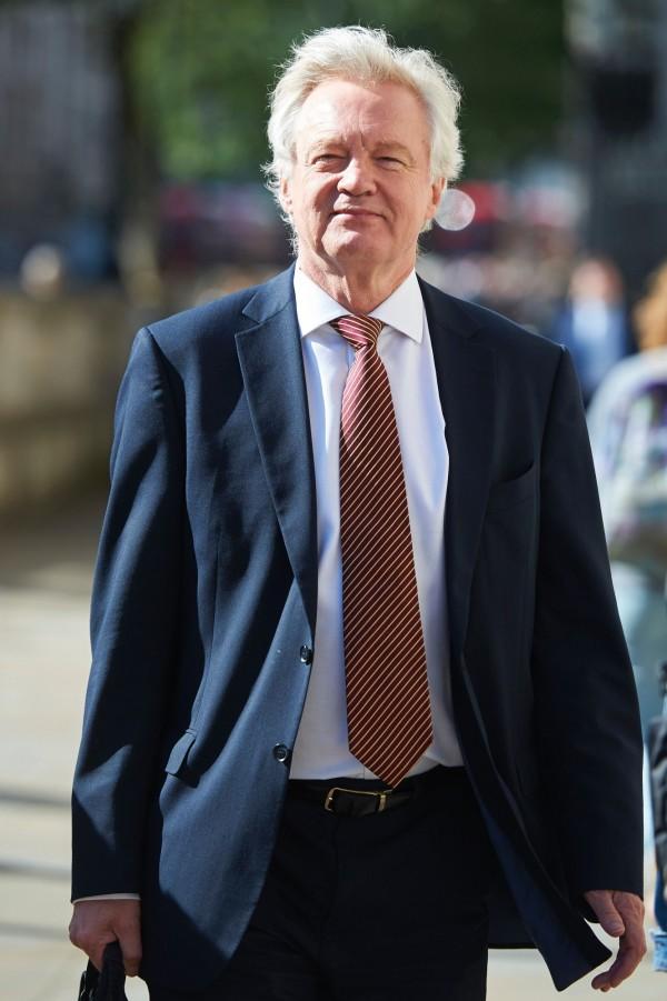 英國脫歐部長戴維斯今(17)日表示,英國脫離歐盟後,不會直接趕走英國境內約300萬的歐盟移民。(法新社)
