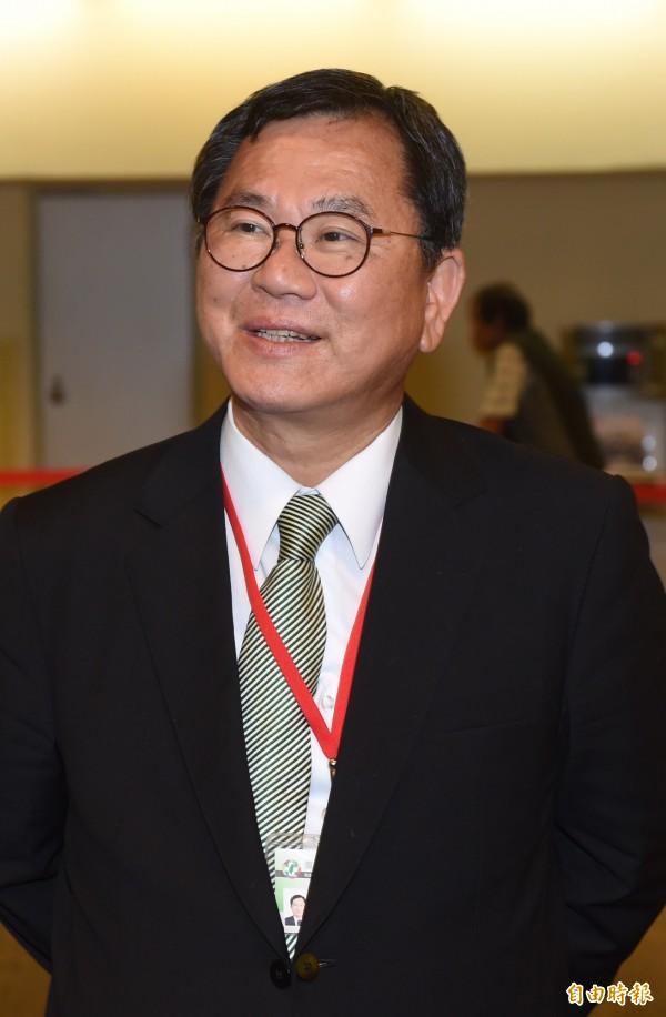 民進黨中常委當選人陳明文。(記者簡榮豐攝)